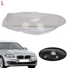 For BMW F10 F11 5 Series Left Headlight Clean Lens Cover Protector Car Light Assembly 528i 530i 535i 535d 550i M5 2009 - 2013(China)