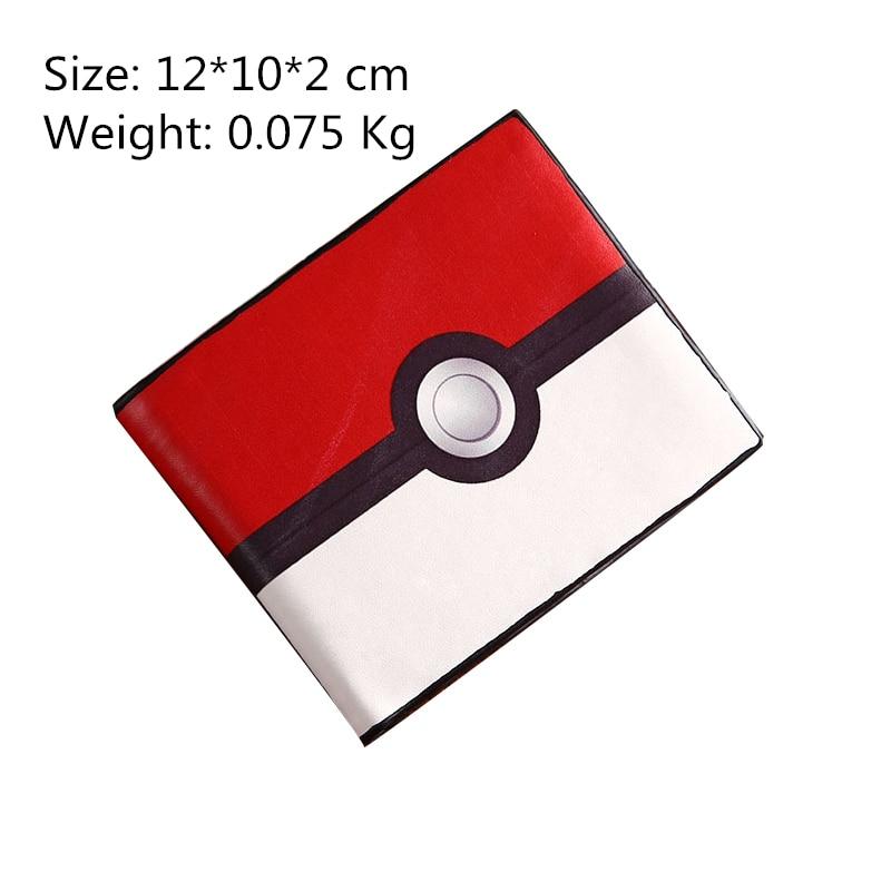 Hot Game Pokeball Go Wallets Poke ball Red White Pocket Monster Wallets Billetera For Teenager Boys Girls PU Money Bag Purse #E<br><br>Aliexpress