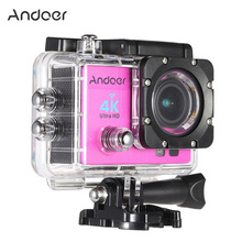 "Andoer 2"" Ultra-HD LCD 1080P Wireless 4K Wifi Action Camera Sports DV Video Camcorder Recorder 16MP 170 Wide-Angle Lens"