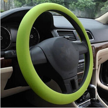 Car-styling Silicone Steering Wheel Skin Cover For Honda CRV Accord Odeysey Crosstour FIT Jazz City Civic JADE Crider Spirior(China)