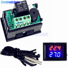 W1209WK -50-110C Digital LED Thermostat Temperature Controller Temp Relay Control Board Module 12V DC + Waterproof NTC Sensor