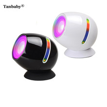 Tanbaby 256 Living Color Atmosphere 3D LED Mood Light Touch night light projector USB recharged Romantic light for wedding Party