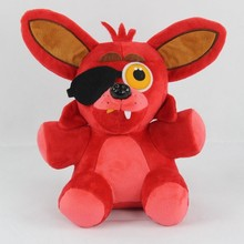 2017 Hot 25cm Five Nights At Freddy FNAF Foxy Toys 3 Colors Beer 3 Style Plush Dolls For Children Gift Birthday DX-0WYX(China)