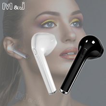 Buy M&J i7s TWS Earbuds Ture Min Wireless Bluetooth Earphone Earpieces Stereo Music Headset Samsung Apple iPhone X 8 8 Plus for $3.69 in AliExpress store