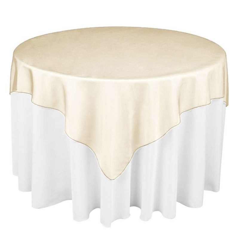 "Hot Sale 25 Colors 180cmx180cm (72""X72"") Square shape Hotel Restaurant Organza Tablecloth Overlay party table runner(China (Mainland))"