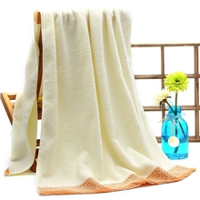 new 2016 high quality Pure Cotton towel, antibacterial soft, delicate edging, Jacquard beach towel