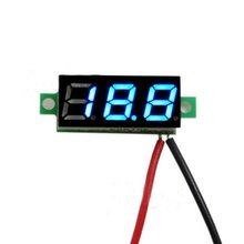 0.28 Inch 2.5V-30V Mini Digital Voltmeter Voltage Tester Meter  Electronic Parts Accessories Digital Voltmeter LED Screen