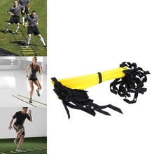 Durable 12 Rung 18 Feet 6m Agility Ladder For Soccer Speed Training  Outdoor Fitness Training Equipment