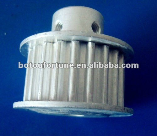 HTD5M Aluminum timing pulley 15tooth and 30tooth 15mm width and endless belt 285-5M-15<br>