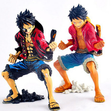 2 Styles 21cm Cosplay Anime One Piece Luffy Figure Monkey D Luffy PVC Action Figure Model Doll Toys