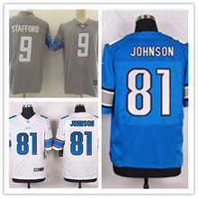 Mens 81 Calvin Johnson Jersey 2017 Rush Salute to Service High Quality Football Jerseys(China)
