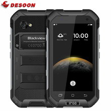 IP68 WaterProof Blackview BV6000 Mobile Phone 4G LTE Android 7.0 MTK6755 Octa Core 2.0Ghz 3GB RAM 32GB ROM 13MP GPS Glonass Navi