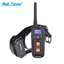 916-1 Newest Rechargeable and Waterproof  Dog Electronic Shock Training Collar with LCD display