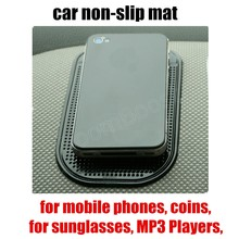 Holds Objects on Dash Car Anti-skid Pads Car Skid Proof Mat car sticky pad for Cell Phone coins sunglasses MP3 Players