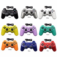 New USB Wired Gamepad Controller Joystick For PS3 Playstation 3 console For PS3 pc For Dualshock Gamepad Joystick USB Gamepad(China)