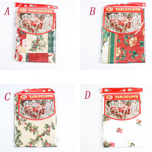 New 1Pc Creative Home Kitchen Dining Table Decorations Christmas Tablecloth Rectangular Party Table Covers Christmas Ornaments