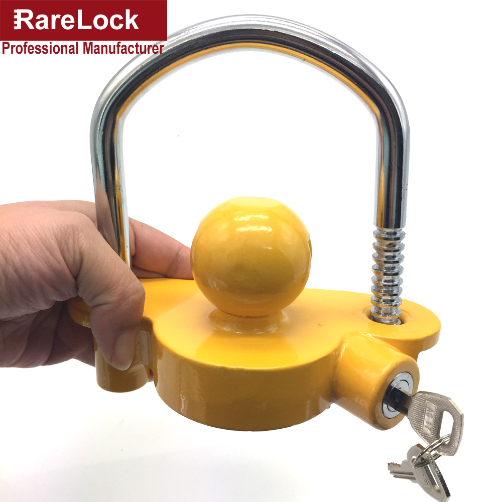 Rarelock Christmas Supplies Car Trailer Arm Padlock Lock for Yacht SUV RV ATV UTV Truck Car-styling Auto Parts Accessories DIY h<br>