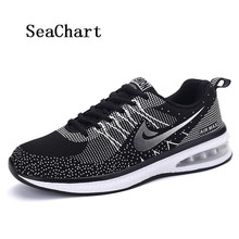 SeaChart Men's Women's Running Shoes Lover Shoes Jogging Sport Outdoor Air Max Cushioning Sneakers chaussures Hombres Zapatos