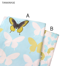 TIANXINYUE Brand fabric 95% cotton fabric Butterfly fabric cloth DIY home pillow patchwork Sewing quilting fabric
