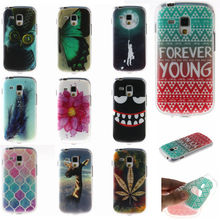 Cartoon Cover Feather Silicone Soft Case For Samsung Galaxy S Duos 2 s7562 7560 7562 S7582 Trend Plus S7580 GT-S7562 Phone Bag(China)