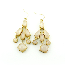 Alli express turkey Special store Vintage gold pink rhinestone hanging earring earing from india