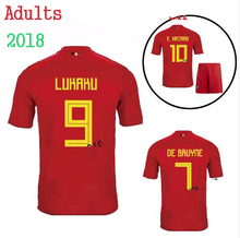 2018 AdultT-shirt Shirt Belgium 2018 2019 shirt Best Quality Adult Men's Shirts E. DANGER OF BRUYNE T-shirt Casual Free Shipping(China)