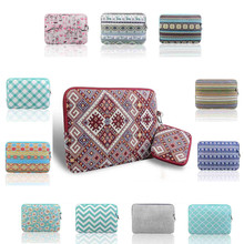 newest Canvas Laptop Sleeve Case for macbook air pro retina 13 Bag for 13.3inch thin Ultrabook with bag for macbook adapter