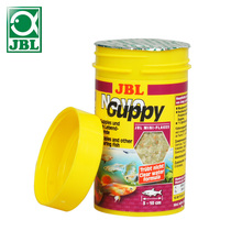 JBL Guppy flakes tropical small fish food canister feeder aquarium aitum angelfish guppy discus(China)