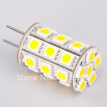 Free Shipment LED GY6.35 Light 4w 27led 5050SMD 12VDC Commercial Engineering Indoor Professional Sailing 5pcs/lot