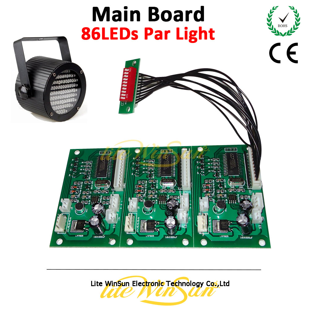 Litewinsune Free Ship Mainboard for Par LED 86 Stage Lighting Accessory<br>