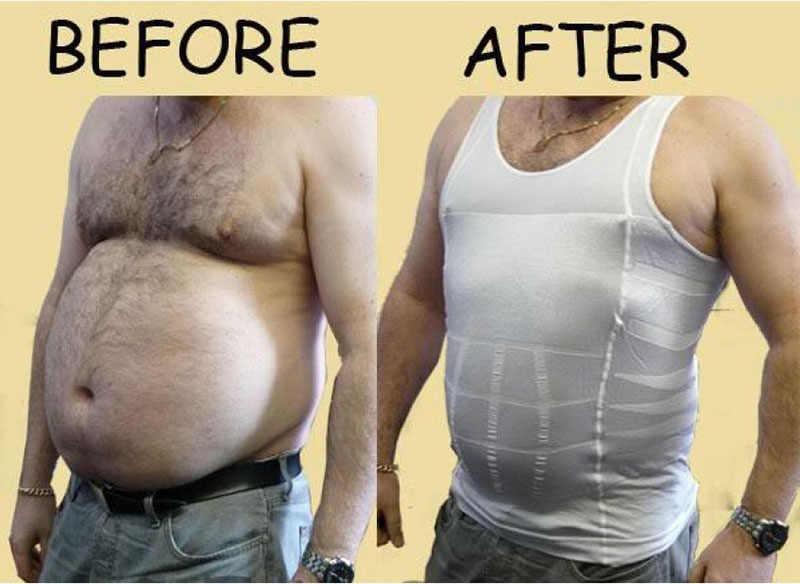 8659a93e79677 Men Neoprene Hot Shaper Body Men Slimming Belt Weight Loss Male Corset  Waist Trainer Corsets Faja