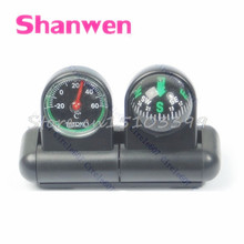 Boats Cars Vehicles Navigation Compass Ball Thermometer #G205M# Best Quality