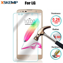 0.26mm Glossy Tempered glass For LG G4 G3 G2 Pro2 V10 Anti-Scratch Screen Protector Film For G4 Note G3 Mini Explosion-proof 9H