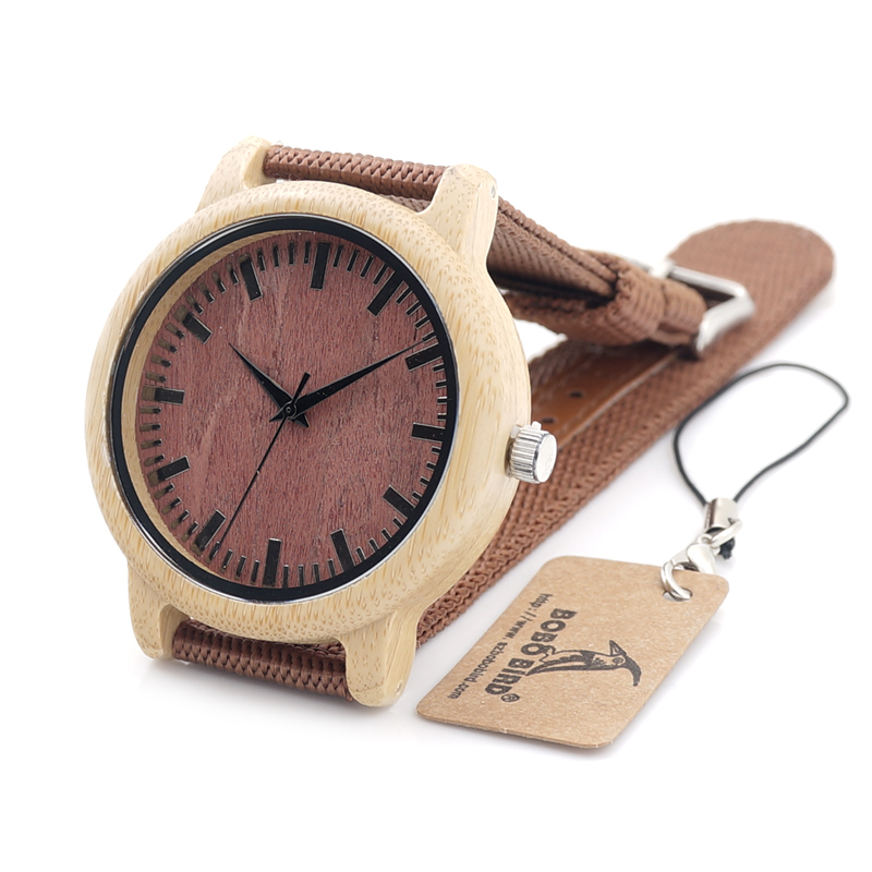 2017 BOBO BIRD Top Luxury Men Watches Bamboo Wrist Watches Quartz Watches for Men and Women relogio masculino C-D09<br><br>Aliexpress