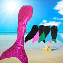 New Kids Girls Nadar Colas De Sirena traje de Baño Mono Aleta Traje 80% nylon + 20 spandex mermaid tail fit 110-170 cm