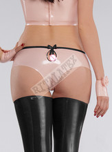 Buy Latex knickers Girls Briefs Baby t Pink Latex Underwear High Quality Latex Shorts Many Color available