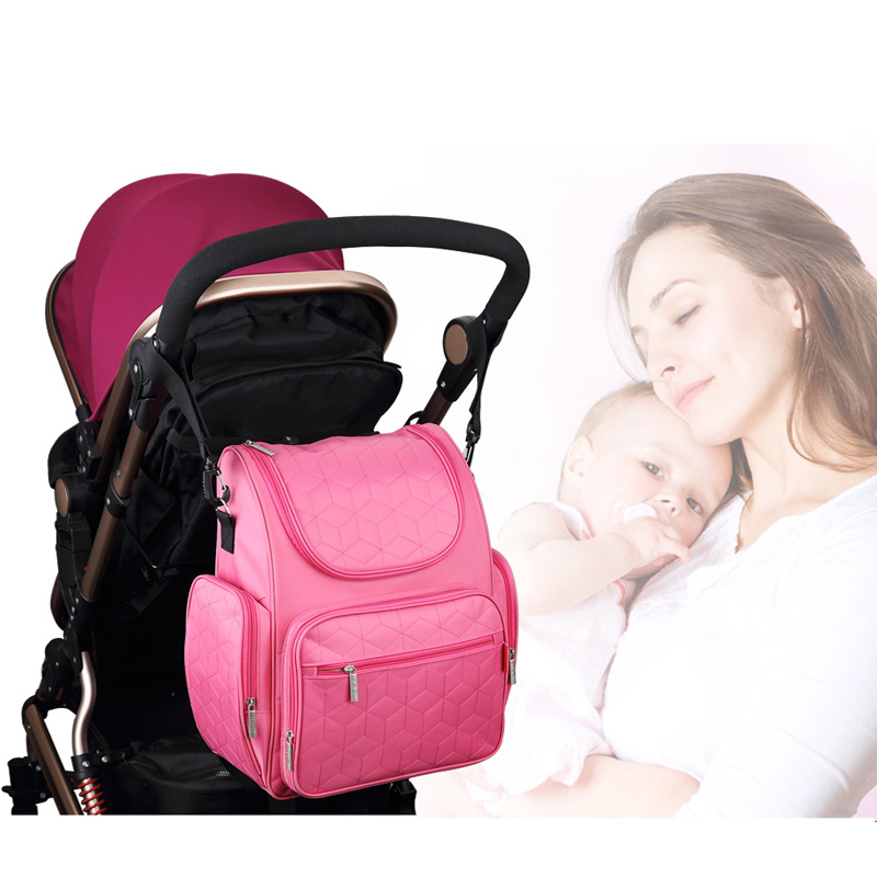 New Fashion Mommy Diaper Bag Large Capacity Multi-functional Maternity Bag Pregnant Women Backpack Nursing Bag Baby Diaper Bag<br>