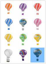 1pc 12'' 30cm Rainbow Hot Air Balloon Paper Lantern Home Kids Birthday Party Wedding Christmas Decoration Supplies
