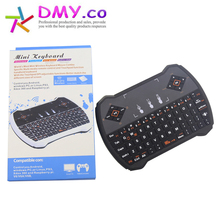 5pc/lot Mini Keyboard 2.4G Wireless Keyboard Air Mouse Touchpad  for PC Notebook Android TV Box HTPC Handheld Keyboard free ship
