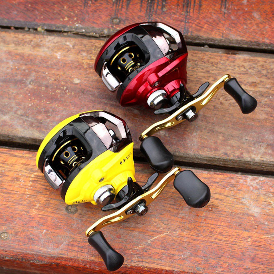 10+1BB 6.3:1 Baitcasting Fishing Reel Right/Left Hand Baitcast Reels Molinete Peche Carretilha Carretes Pesca FL020<br><br>Aliexpress