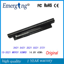 4Cells 14.8V 40Wh New Original Laptop Battery for  Dell Inspiron XCMRD 14-3421 14R-5421 5421 3521 5521 3721 15-3521 3421 series