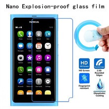 Soft Explosion-proof Nano Protection Film Foil for Nokia N9 Film Screen Protector Not Tempered Glass(China)