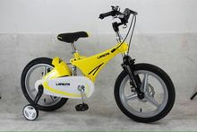 12inch LAN Q Kids bicycles Magnesium alloy suspension bike bicycle disc brakes bicycle 12inch bike(China)