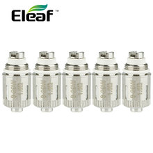 5pcs/Lot Original Eleaf GS-Air Dual Coil Unit 1.5ohm GS Air Atomizer Head for Electronic Cigarette Eleaf GS Air Tank Atomizer