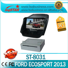 "8"" car gps head unit for Ford Ecosport 2013 with radio bluetooth music 6CDC ipod steer wheel 3g free shipping"