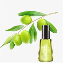 Pure Olive Oil Hair Essential Oil For Dry Hair Types Hair & Scalp Treatment Multi-function Hair Care Conditioner Essential 100ml(China)