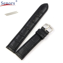 Superior High Quality 18mm,20mm,22mm Soft Sweatband Leather Strap Steel Buckle Wrist Watch Band Sep 20