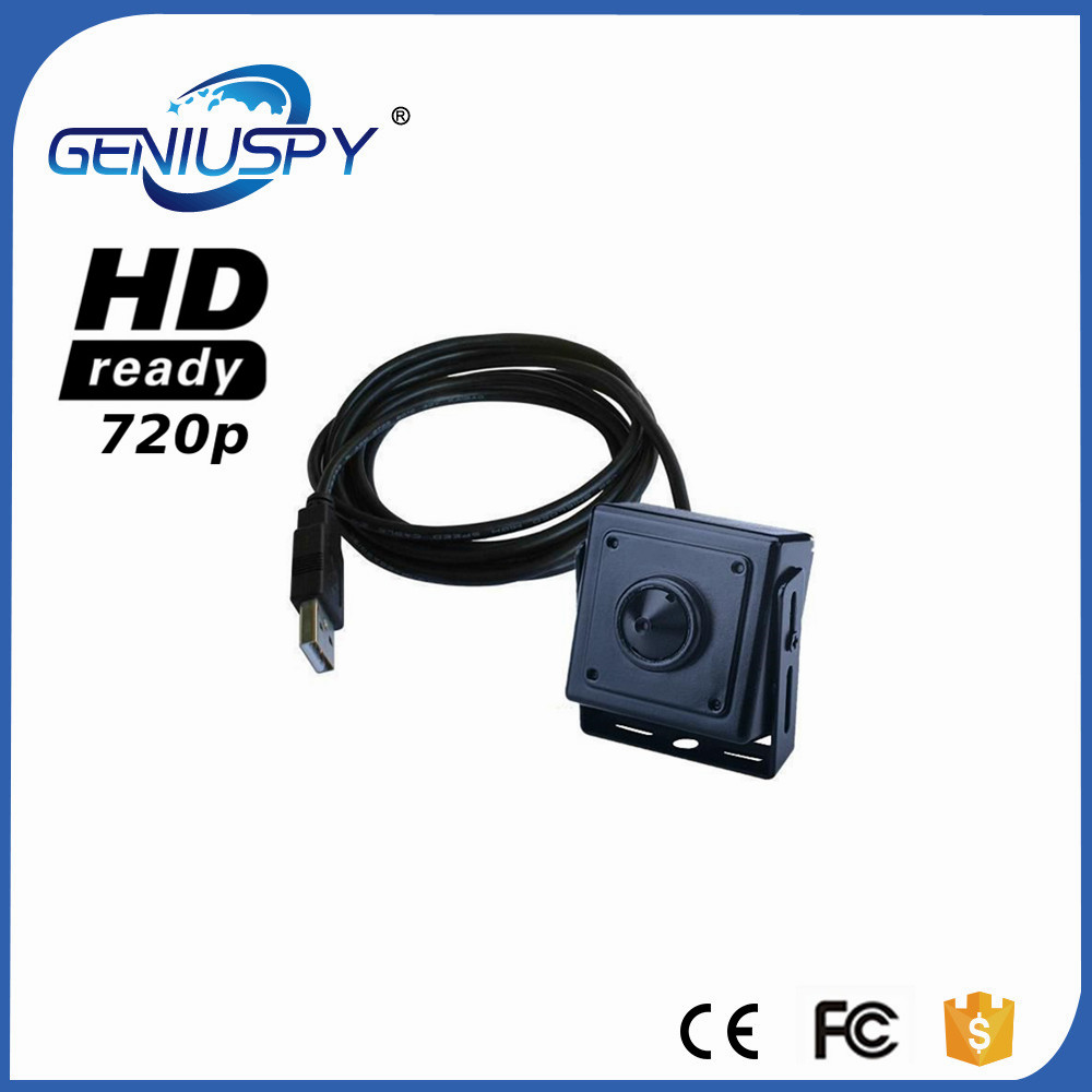 GENIUSPY 720P MINI USB Camera 1.0 Megapixels USB Mini Camera ATM Bank Camera Support Linux XP System Mini USB Digital Camera<br>