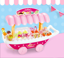 Innovative,fun,realistic,making,sell,special,fast food machine,pink,candy car,play with friends,pretend play,Sweet shop toys set