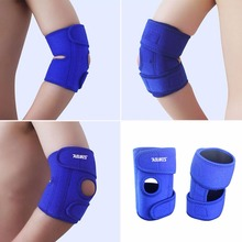 AOLIKES adjustable wristbands bandage Sport safety Elbow Knee Pads shin protector guard pad Knee Supports Tonsee Drop Shipping